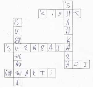Megna crossword